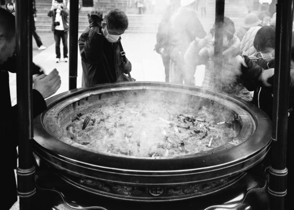 L'encens purificateur du temple d'Asakusa