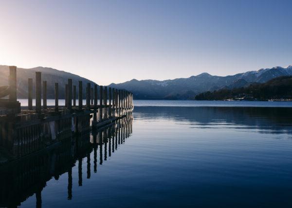 Lac chuzenji, à quelques minutes de Nikko, au Japon
