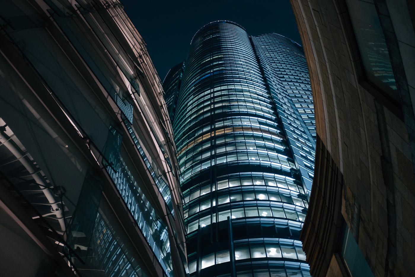 Roppongi et son architecture vertigineuse, en plein coeur de Tokyo