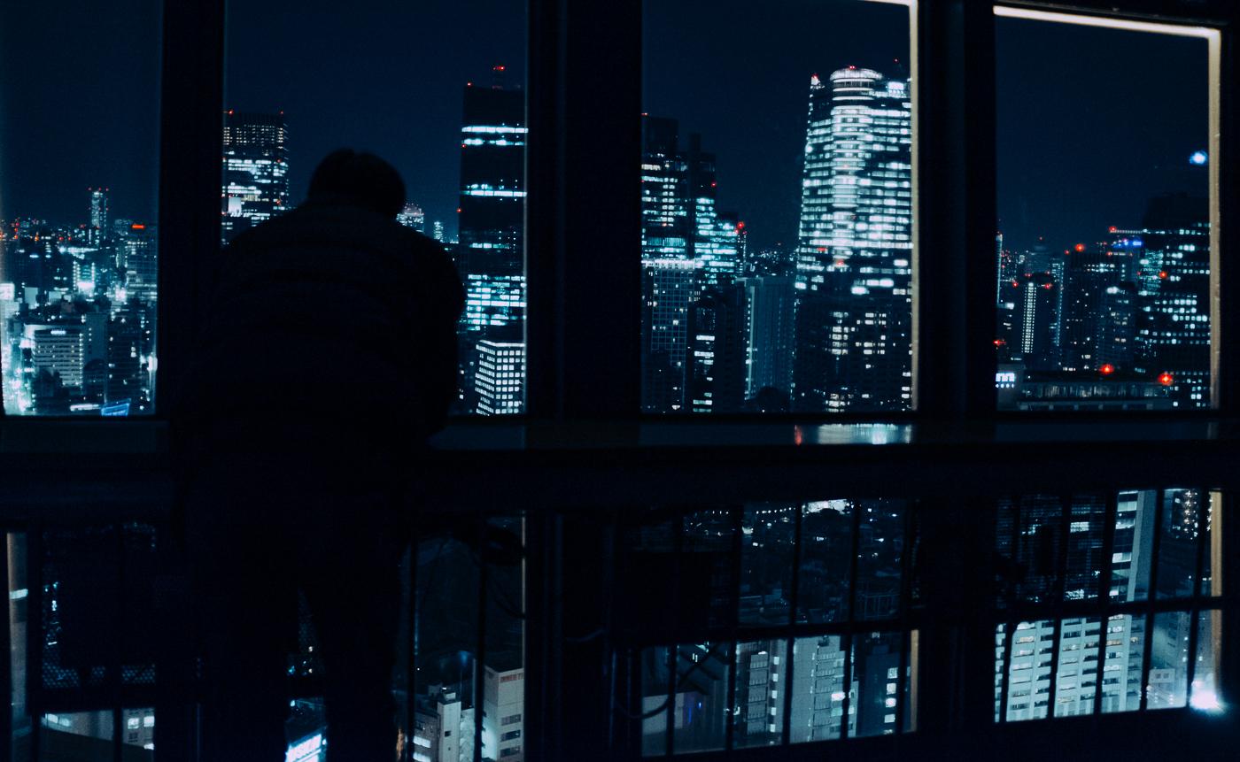 Les lumières de Tokyo sont saisissantes depuis la tour de Tokyo