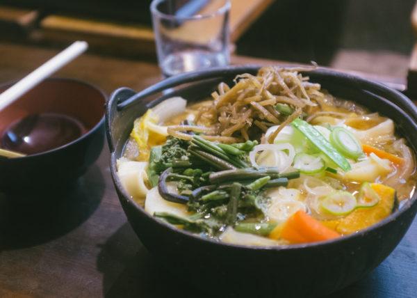 Spécialité de Yamansahi, le Hoto est un plat à base de légumes et de pates épaisses